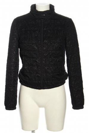 Stile Benetton Kurzjacke schwarz Casual-Look
