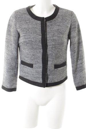 Stile Benetton Kurzjacke schwarz-weiß Business-Look