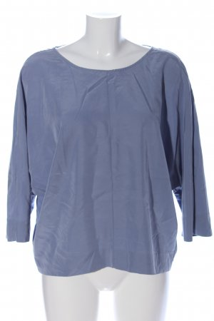 Stile Benetton Langarm-Bluse blau Casual-Look
