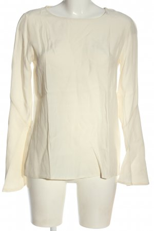 Stile Benetton Langarm-Bluse creme Elegant