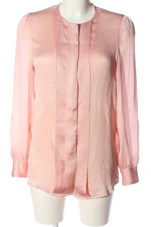 Stile Benetton Langarm-Bluse pink Casual-Look