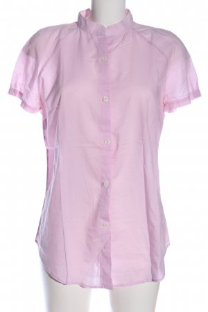 Stile Benetton Kurzarm-Bluse pink Casual-Look