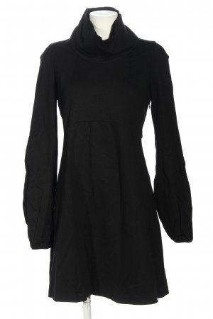 Stile Benetton Langarmkleid schwarz Casual-Look