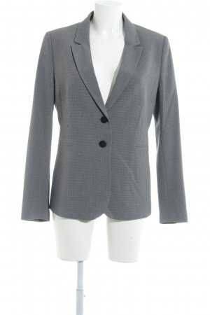 Stile Benetton Long-Blazer grau-schwarz Business-Look