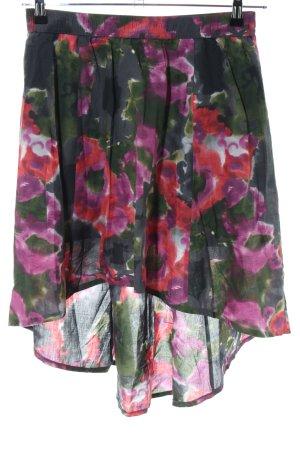 Stile Benetton Midirock abstraktes Muster Elegant