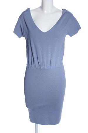 Stile Benetton Minikleid blau Casual-Look