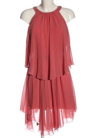 Stile Benetton Sukienka z dekoltem typu halter różowy Elegancki