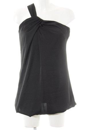 Stile Benetton One-Shoulder-Kleid schwarz Casual-Look