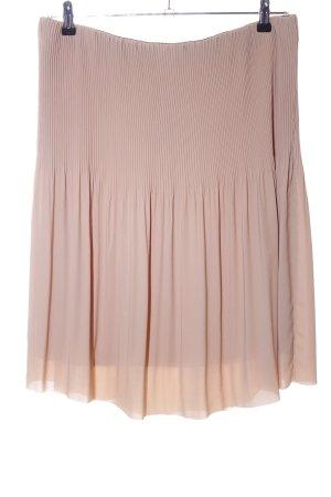 Stile Benetton Pleated Skirt cream casual look