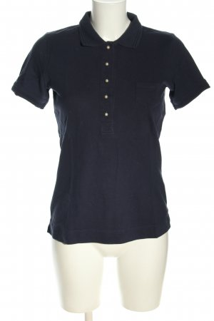 Stile Benetton Polo-Shirt blau Casual-Look