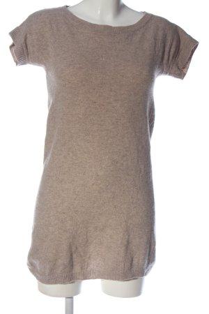 Stile Benetton Pulloverkleid nude meliert Casual-Look