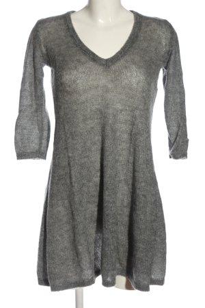 Stile Benetton Abito maglione grigio chiaro stile casual