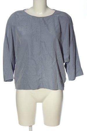 Stile Benetton Schlupf-Bluse blau Casual-Look