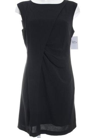 Stile Benetton schulterfreies Kleid schwarz Elegant