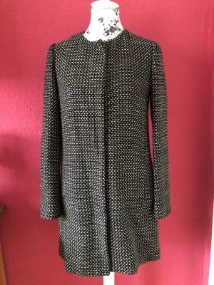 Stile Benetton schwarze Jacke / Mantel