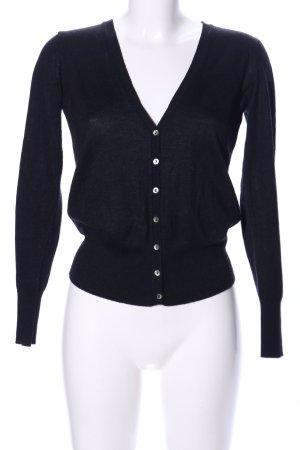Stile Benetton Shirtjacke schwarz Casual-Look