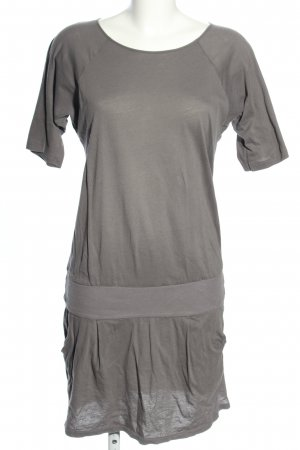 Stile Benetton Shirtkleid hellgrau Casual-Look
