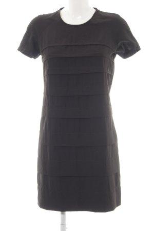 Stile Benetton Shirtkleid schwarz schlichter Stil