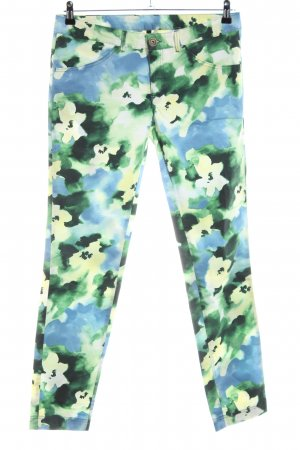 Stile Benetton Skinny Jeans Blumenmuster Casual-Look