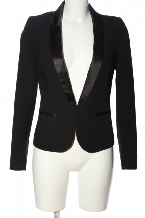 Stile Benetton Smoking-Blazer schwarz Casual-Look