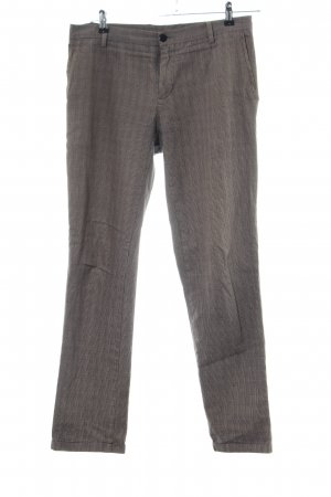 Stile Benetton Stoffhose Karomuster Business-Look