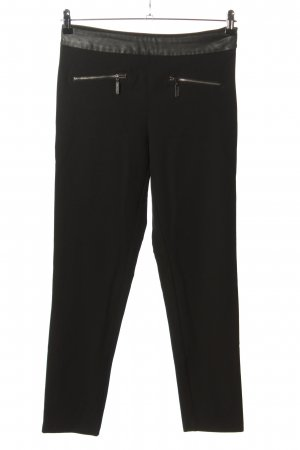 Stile Benetton Stretchhose schwarz Casual-Look