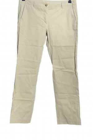 Stile Benetton Stoffhose wollweiß Casual-Look