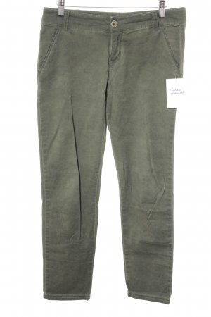 Stile Benetton Stoffhose khaki Casual-Look