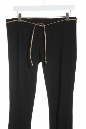 Stile Benetton Stoffhose schwarz Casual-Look