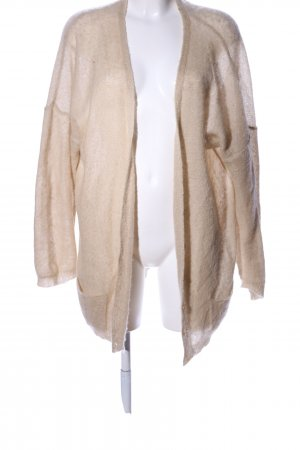 Stile Benetton Strickjacke creme Casual-Look