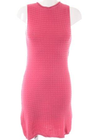 Stile Benetton Strickkleid pink Casual-Look