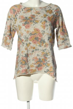 Stile Benetton T-Shirt Blumenmuster Casual-Look