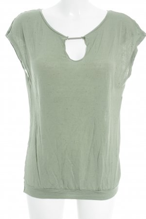 Stile Benetton T-Shirt Punktemuster Casual-Look