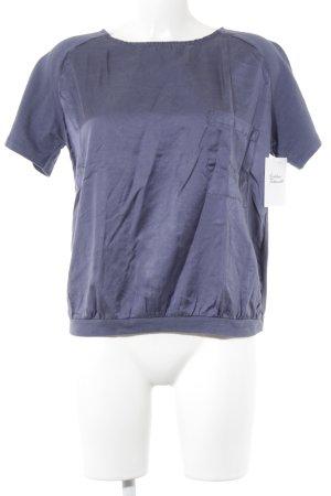 Stile Benetton T-Shirt stahlblau Casual-Look