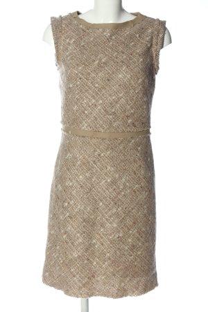 Stile Benetton Sheath Dress natural white-brown flecked business style