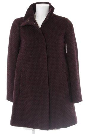 Stile Benetton Übergangsjacke schwarz-brombeerrot Street-Fashion-Look