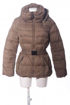 Stile Benetton Winterjacke bronzefarben Steppmuster Casual-Look