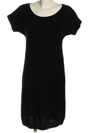 Stile Benetton Vestito di lana nero stile casual
