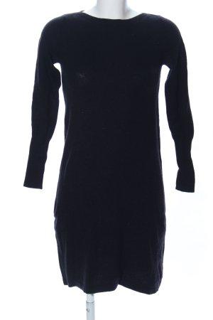 Stile Benetton Wollkleid schwarz Casual-Look