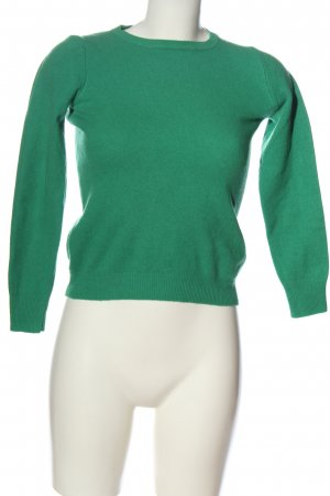 Stile Benetton Wool Sweater green casual look