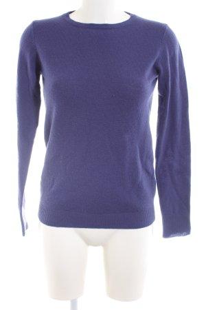 Stile Benetton Wollpullover blau Casual-Look