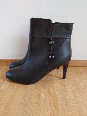 Lands' End Botas de tobillo negro