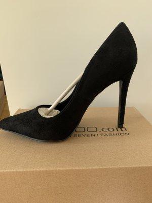 Bohoo High Heels black