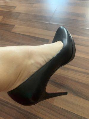 5 th Avenue High Heels black-red