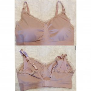 H&M Mama Brassier color rosa dorado