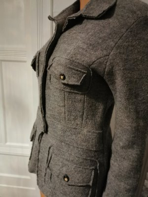Jake*s Blazer in lana grigio chiaro-grigio