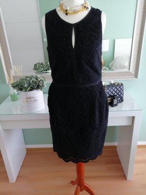 Kathleen Madden Vestito di lana nero Lana