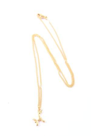 Stilnest Halskette goldfarben Casual-Look