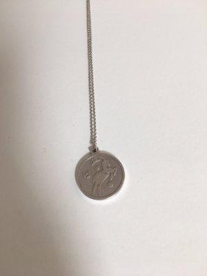 Stilnest Zodiac Steinbock Kette 925er Silber NEU