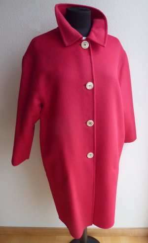 Gucci Wool Coat magenta wool